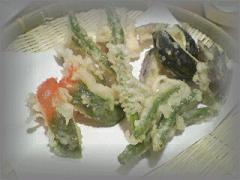 *野菜の天ぷら盛り*